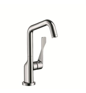 "Hansgrohe 39851001 Axor Citterio 5 3/4"" Single Handle Deck Mounted Aerated Spray High-Arc Bar Faucet With Finish: Chrome"