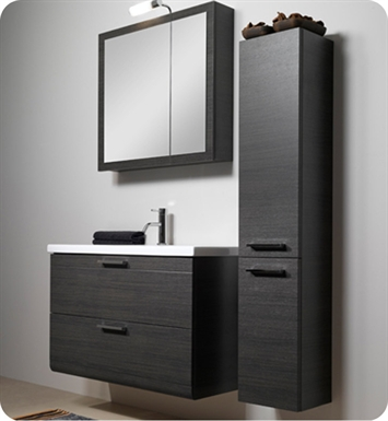 Nameeks L16 Iotti Modern Bathroom Vanity Set from Luna Collection