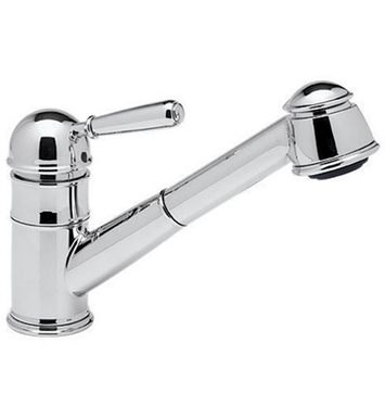 Rohl R77V3-STN Country Pull-Out Kitchen Faucet With Finish: Satin Nickel