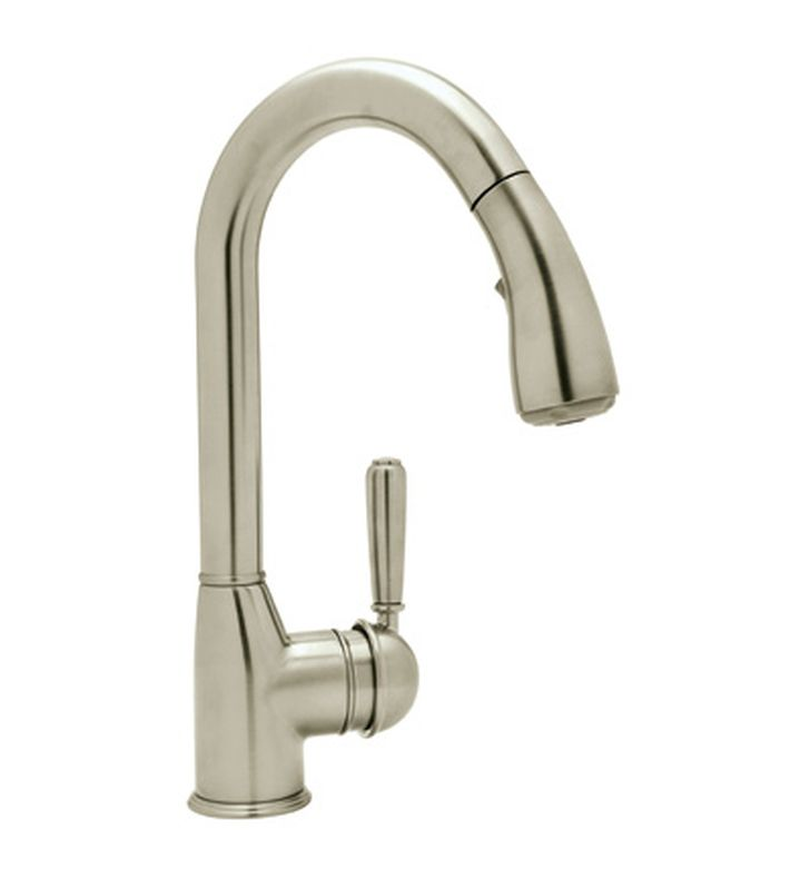 rohl r7504lm classic pull kitchen faucet