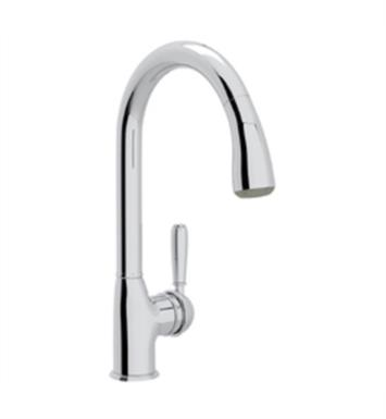 "Rohl R7504LM Classic 9 1/2"" Deck Mounted Pull-Down Kitchen Faucet"