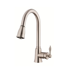 Danze Prince™ Single Handle Kitchen Pull-Down Faucet in Stainless Steel
