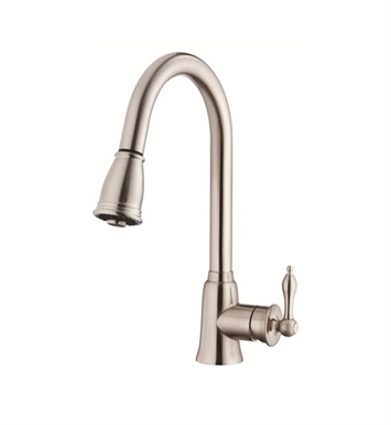 Danze D454510SS Prince™ Single Handle Kitchen Pull-Down Faucet in Stainless Steel