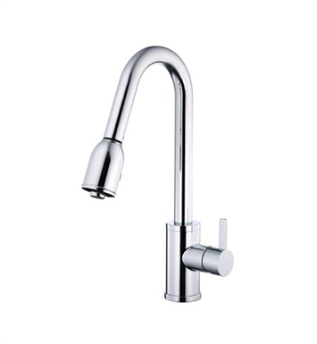 Danze D454530 Amalfi™ Single Handle Pull-Down Kitchen Faucet in Chrome