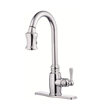 Danze D454557 Opulence™ Single Handle Pull-Down Kitchen Faucet in Chrome