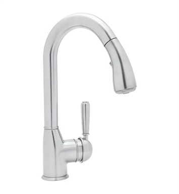 Rohl R7504S-STN Classic Pull-Down Bar Faucet With Finish: Satin Nickel