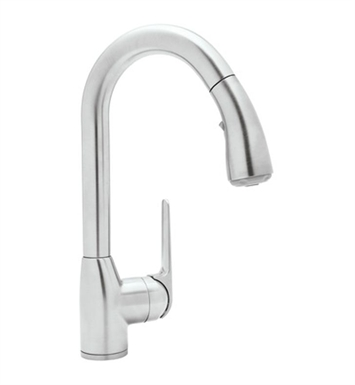 Rohl R7506S-STN Dé Lux Side Lever Pull-Down Bar Faucet With Finish: Satin Nickel