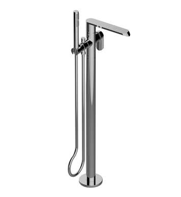 Graff G-6654-LM45N-OB Phase Floor-Mounted Tub Filler with Rough and Trim With Finish: Olive Bronze