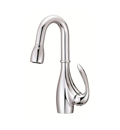 Danze Bellefleur® Single Handle Pull-Down Kitchen Faucet in Chrome