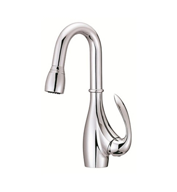 Danze D454746 Bellefleur® Single Handle Pull-Down Kitchen Faucet in Chrome