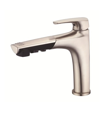 Danze D456710SS Taju™ Single Handle Pull-Out Kitchen Faucet in Stainless Steel