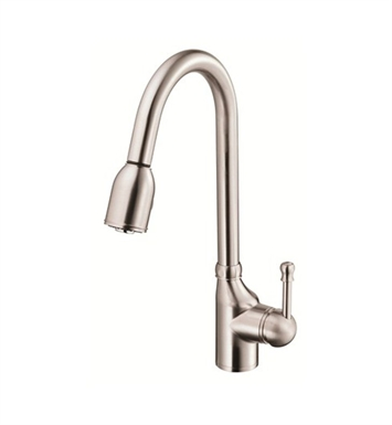 Danze D457015SS Melrose™ Single Handle Pull-Down Kitchen Faucet in Stainless Steel