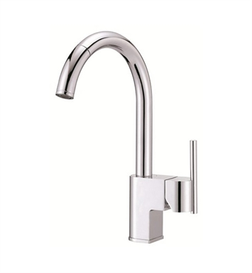 Danze D457144 Como™ Single Handle Pull-Down Kitchen Faucet in Chrome