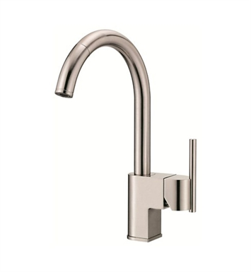 Danze D457144SS Como™ Single Handle Pull-Down Kitchen Faucet in Stainless Steel