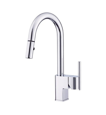 Danze D454542 Como™ Single Handle Pull-Down Kitchen Faucet in Chrome