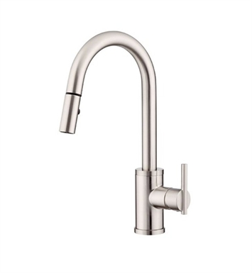 Danze D454558SS Parma™ Single Handle Pull-Down Kitchen Faucet in Stainless Steel