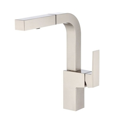 Danze D404562SS Mid-town™ Single Handle Pull-Out Kitchen Faucet in Stainless Steel
