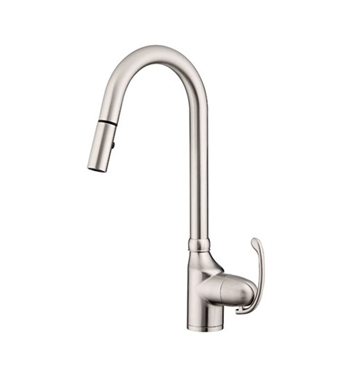 Danze D457020SS Anu™ Single Handle Pull-Down Kitchen Faucet in Stainless Steel