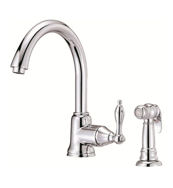 Danze D401540 Fairmont™ Single Handle Kitchen Faucet with Spray in Chrome