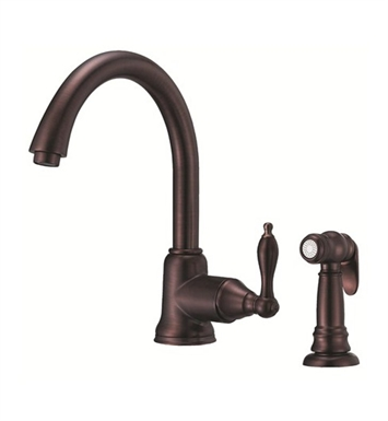 Danze D401540RB Fairmont™ Single Handle Kitchen Faucet with Spray in Oil Rubbed Bronze