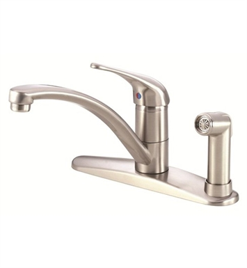 Danze D405612SS Melrose™ Single Handle Kitchen Faucet with Spray in Stainless Steel
