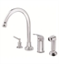 Danze Melrose™ Single Handle High-Rise Kitchen Faucet with Spray in Chrome