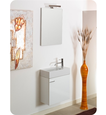 Nameeks LA4-W Iotti Modern Bathroom Vanity Set from Lola Collection With Finish: Wenge