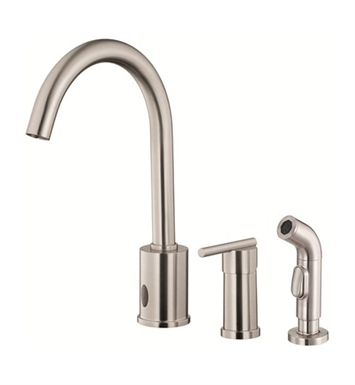 Danze D423058SS Parma™ Dual Function Kitchen Faucet with Spray in Stainless Steel