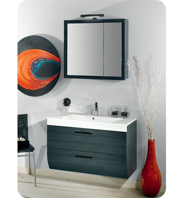Nameeks NN2-GO Iotti Modern Bathroom Vanity Set from New Day Collection With Finish: Gray Oak