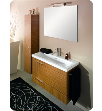 Nameeks NS1-NO Iotti Modern Bathroom Vanity Set from Simple Collection With Finish: Natural Oak