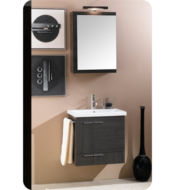 Nameeks NS4-TK Iotti Modern Bathroom Vanity Set from Simple Collection With Finish: Teak