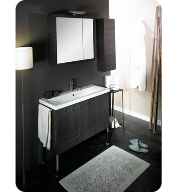Nameeks NS5-GO Iotti Modern Bathroom Vanity Set from Simple Collection With Finish: Gray Oak