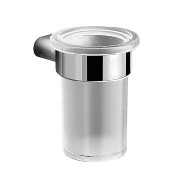"Graff G-9403-PN Phase/Terra 3 3/8"" Wall Mount Tumbler and Holder With Finish: Polished Nickel"