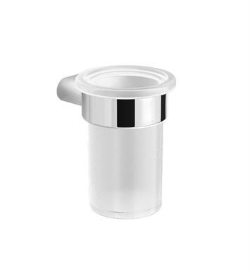 Graff G-9403-BNi Phase Tumbler & Holder With Finish: Brushed Nickel