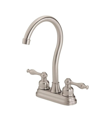 Danze D153555SS Sheridan™ Two Handle Bar Faucet in Stainless Steel