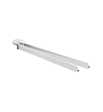 Graff G-9411-BNi Phase Dual Towel Bar With Finish: Brushed Nickel