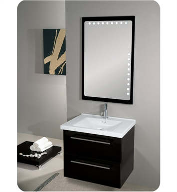 Nameeks FL8-GW Iotti Modern Bathroom Vanity Set from Fly Collection With Finish: Glossy White