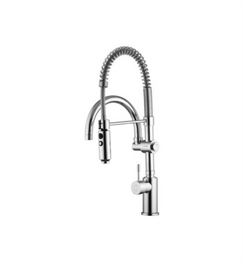 Nameeks S7021 Deck Mounted High Arc Single Handle Kitchen Faucet