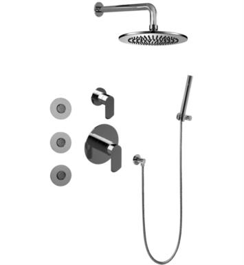 Graff GB5.122A-LM45S Phase Full Thermostatic Shower System with Diverter Valve