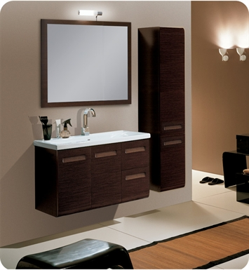 Nameeks NG1-GW Iotti Modern Bathroom Vanity Set from Integral Collection With Finish: Glossy White