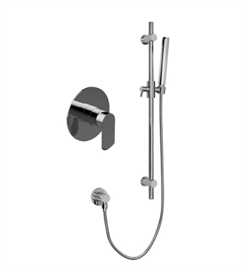Graff G-7275-LM46S-PC Terra Full Pressure Balancing System - Shower with Rough and Trim With Finish: Polished Chrome