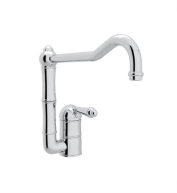 "Rohl A3608-11 Country Kitchen 11"" Deck Mounted C-Spout Kitchen Faucet"