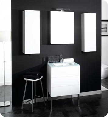 Nameeks NT3 Iotti Modern Bathroom Vanity Set from Time Collection
