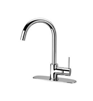 "LaToscana 78591LFT Elba Kitchen Faucet with 13"" High Arc Spout and Deck Escutcheon"