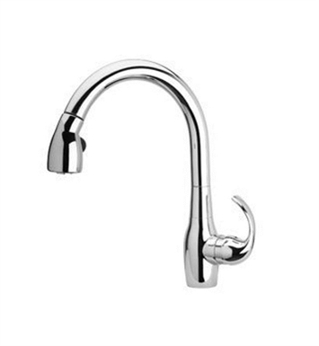 LaToscana CA591CR Petrarca Kitchen Faucet with High Arc Pull Down Swivel Spout With Finish: Chrome