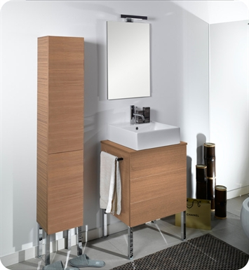 Nameeks NT8-GO Iotti Modern Bathroom Vanity Set from Time Collection With Finish: Gray Oak