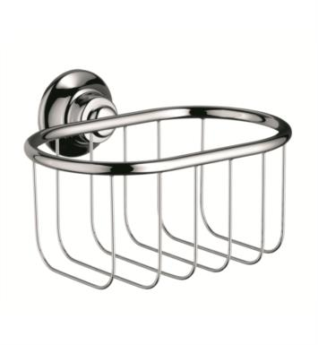 "Hansgrohe 42065820 Axor Montreux 6 5/8"" Soap Basket With Finish: Brushed Nickel"