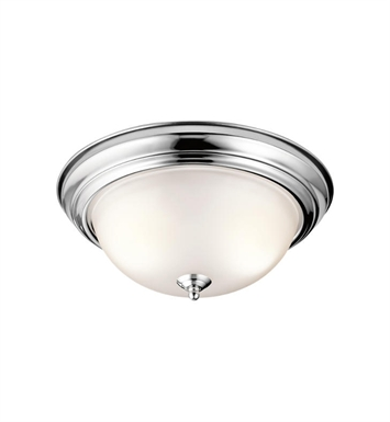Kichler 8112CH 2 Light Flush Mount Ceiling Light in Chrome