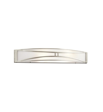 Kichler 10721NI Lucy 2 Light Linear Wall Light in Brushed Nickel