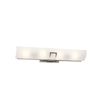 Kichler 45536NI Tryloni 4 Light Linear Bath Light in Brushed Nickel